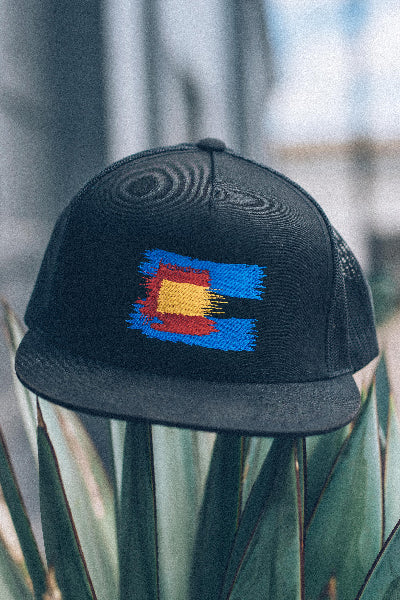 Colorado Painted Flag Cap