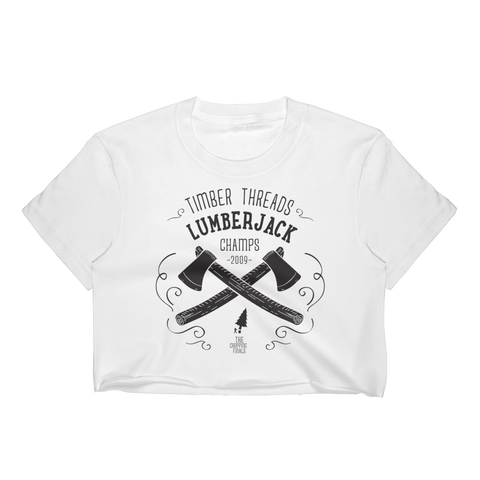 Women's Lumberjack Champs Crop
