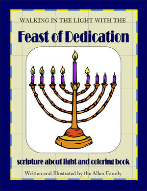 Chanukah Coloring Book - PDF download