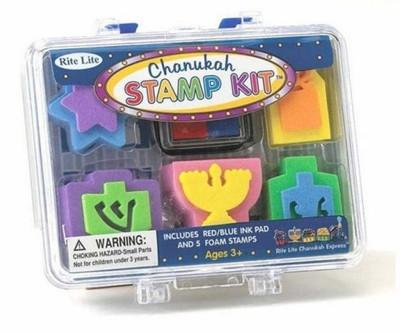Chanukah Stamp Set w/ Carrying Case