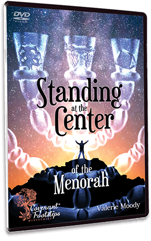 Menorah Series - Standing at the Center of the Menorah