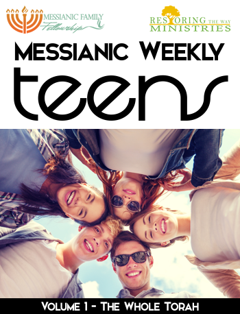 Messianic Weekly Torah Guides for TEENS - PDF download