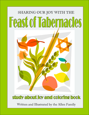 Sukkot Coloring Book - PDF download
