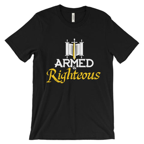 Armed & Righetous Short Sleeve T-Shirt