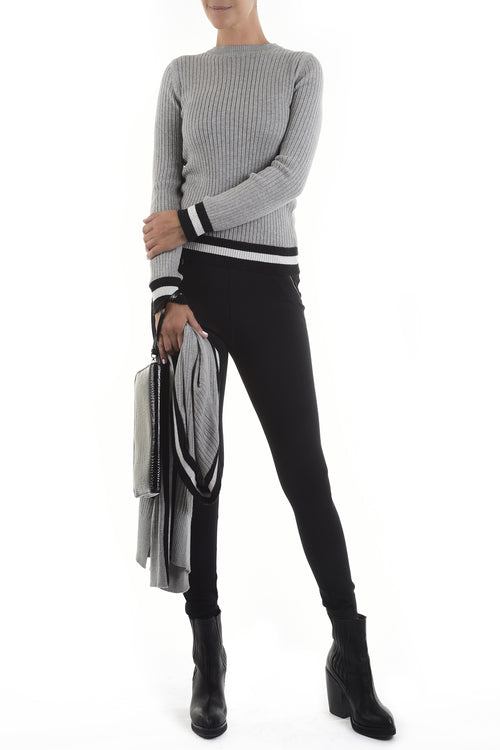 SWEATER MONDRIAN LUREX