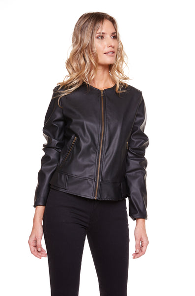 CAMPERA CHICAGO LEATHER