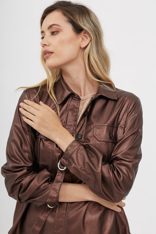 Chaqueta Yves Leather