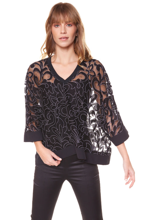 TOP BAHIA LACE