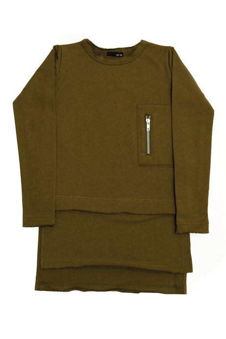 Lil' Mr - Luxe Layer Top KHAKI