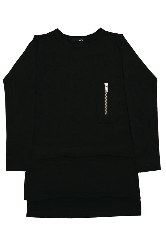 Lil' Mr - Luxe Layer Top BLACK