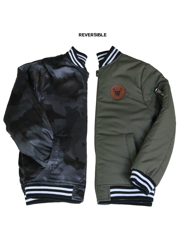 Oovy - Reversible Dark Camo Jacket
