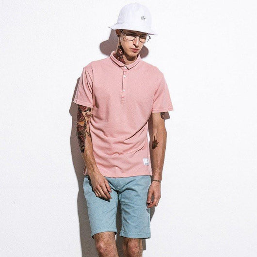 Solid Spring Polo Shirt