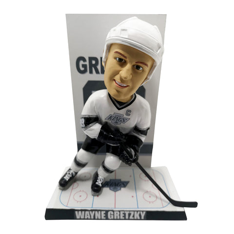 Los Angeles Kings Wayne Gretzky Banner Bobblehead