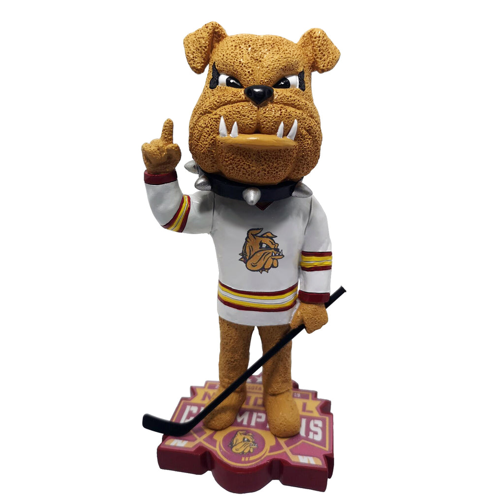 Minnesota Duluth 2019 Mens Hockey National Championship Bobblehead
