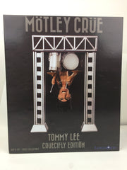 "Motley Crue 8"" Resin Bobblehead Statue: Tommy Lee with Upside Down Drum Rig"