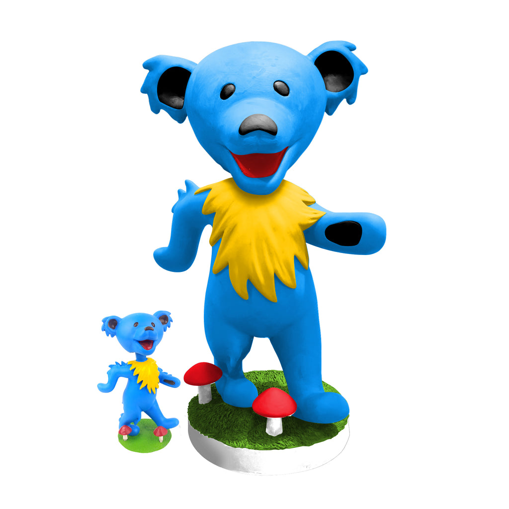 "24"" Grateful Dead Dancing Bear Bobblehead - Blue"
