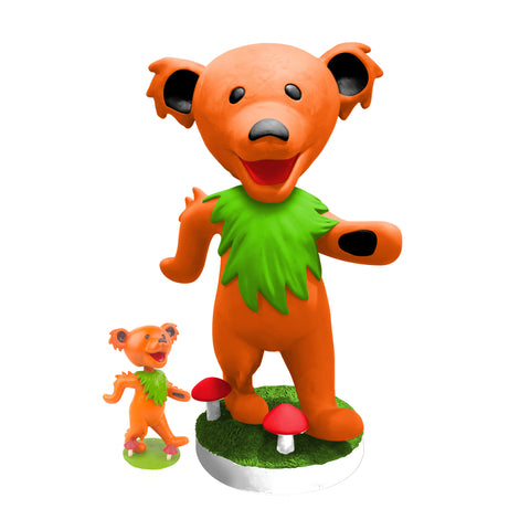 "24"" Grateful Dead Dancing Bear Bobblehead - Orange"