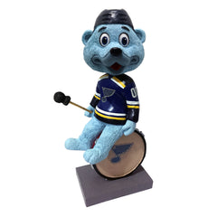 "St. Louis Blues Louie on Drum  4"" Bobblehead"