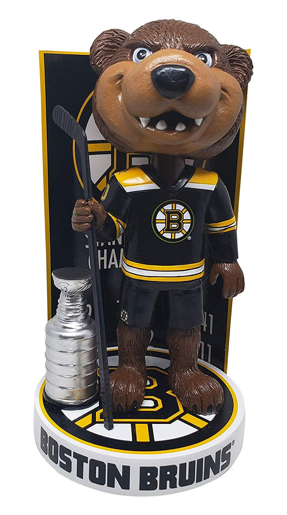 Boston Bruins Blades with Stanley Cup Bobblehead