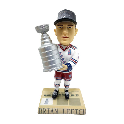 New York Rangers Brian Leetch 1994 NHL Stanley Cup Champions Bobblehead