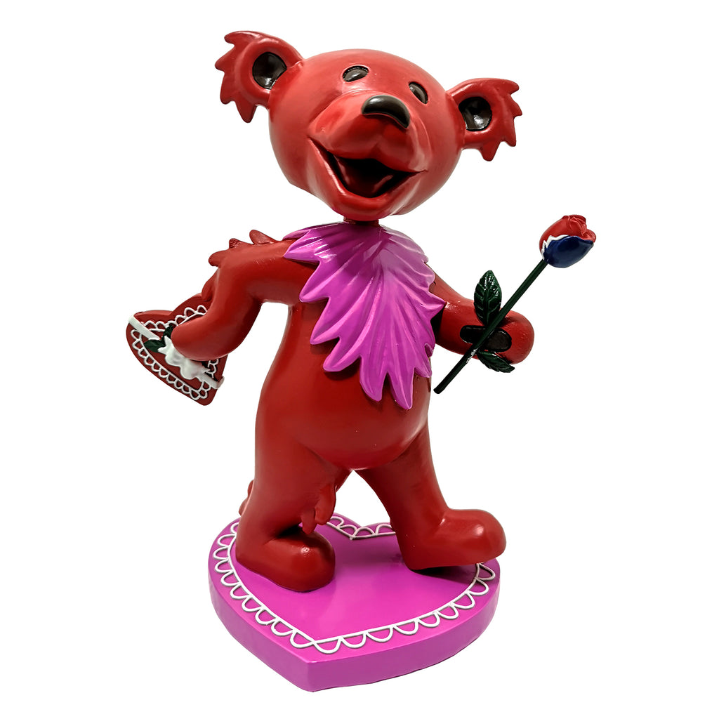 Grateful Dead Dancing LOVE Bear Bobblehead
