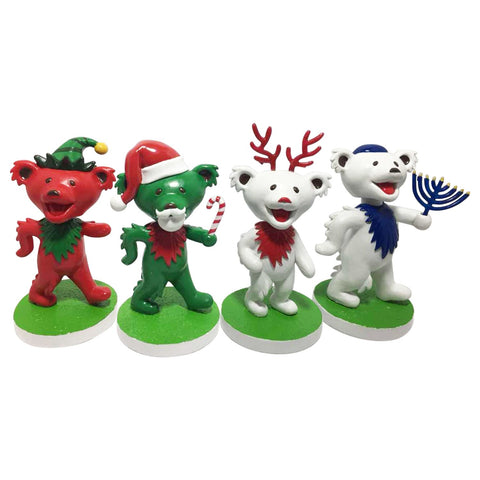 Grateful Dead Dancing Bears Holiday Set