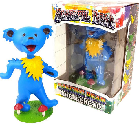 Grateful Dead Dancing Bear Bobblehead - Blue