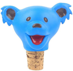 Grateful Dead Dancing Bears Bottle Stoppers - Blue