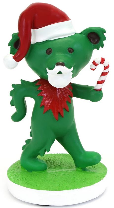 Grateful Dead Santa Dancing Bear Bobblehead