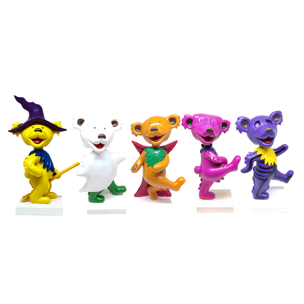 Grateful Dead Dancing Bears Halloween Set