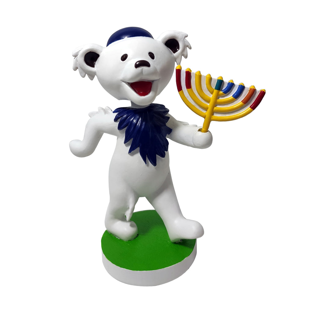 "Grateful Dead 6"" Dancing Bear Hanukkah Bobblehead"