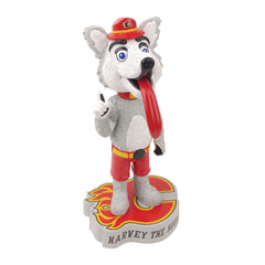 Calgary Flames Harvey the Hound Mascot Bobblehead