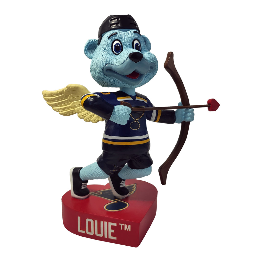 St. Louis Blues Louie Valentine's Day Bobblehead