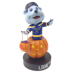 St Louis Blues Louie Halloween Bobblehead