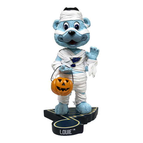 St. Louis Blues Louie Halloween Mummy Bobblehead