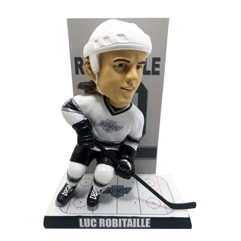 Los Angeles Kings Luc Robitaille Banner Bobblehead