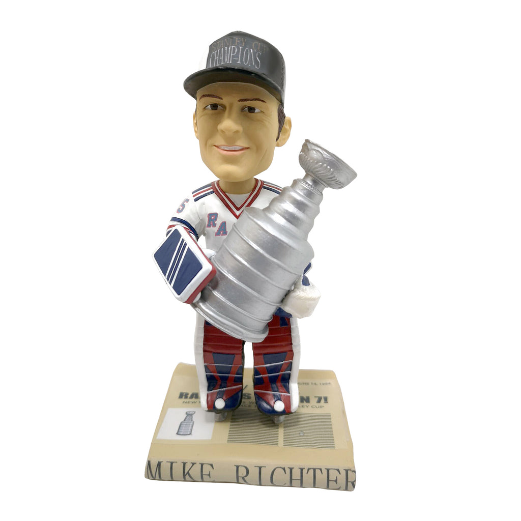 New York Rangers Mike Richter 1994 NHL Stanley Cup Champions Bobblehead