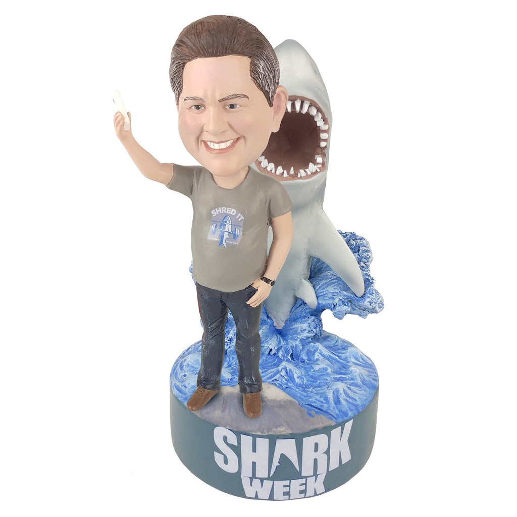 Shark Week Shark Selfie Splash Male