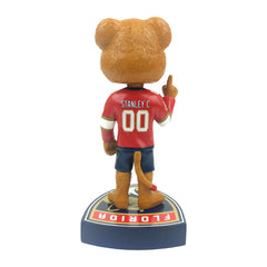 Florida Panthers Stanley C. Panther Mascot Bobblehead