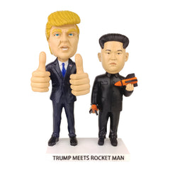 President Trump Meets Rocket Man