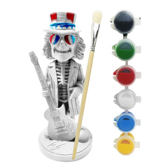 Paint Your Own Grateful Dead Uncle Sam with Guitar