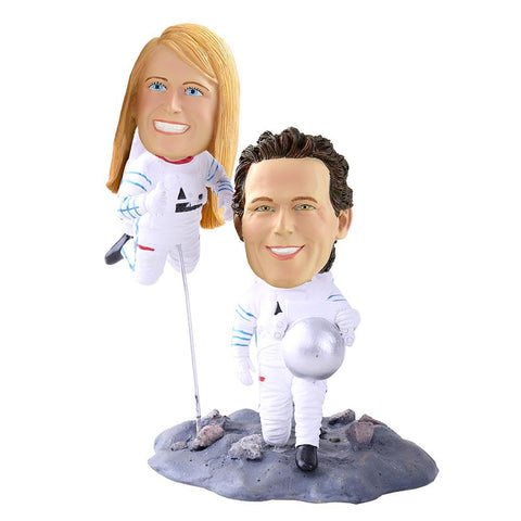 Astronaut Couple