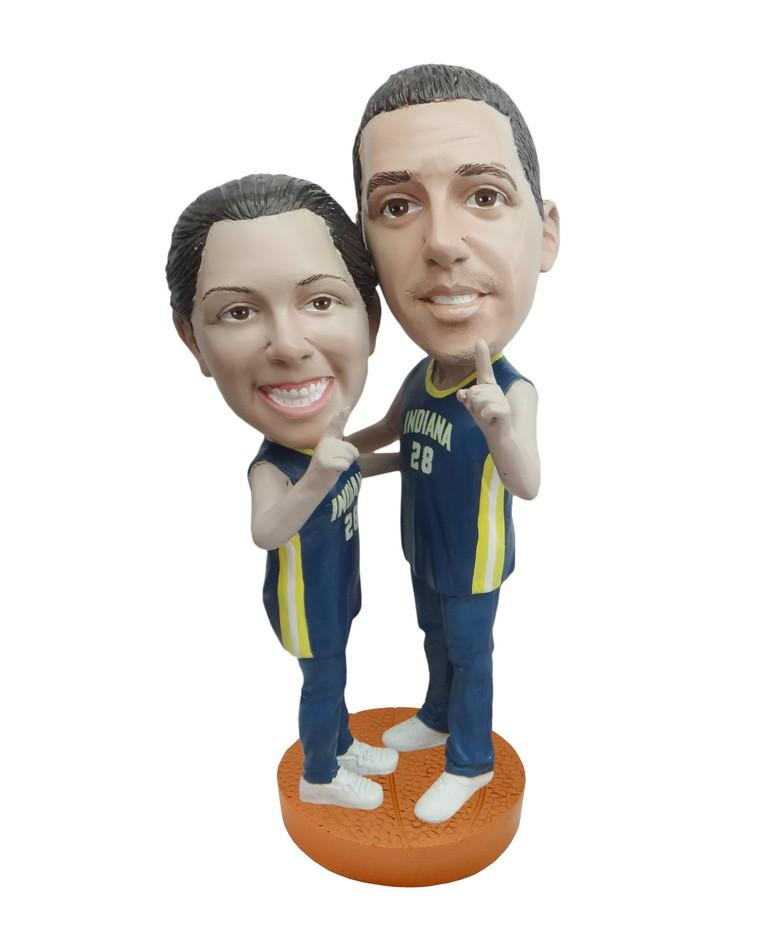 Indiana Pacers Number One Couple Standard Base