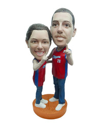 Los Angeles Clippers Number One Couple Standard Base