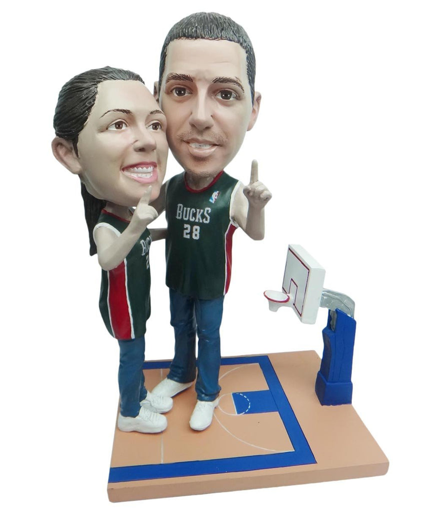 Milwaukee Bucks Number One Couple