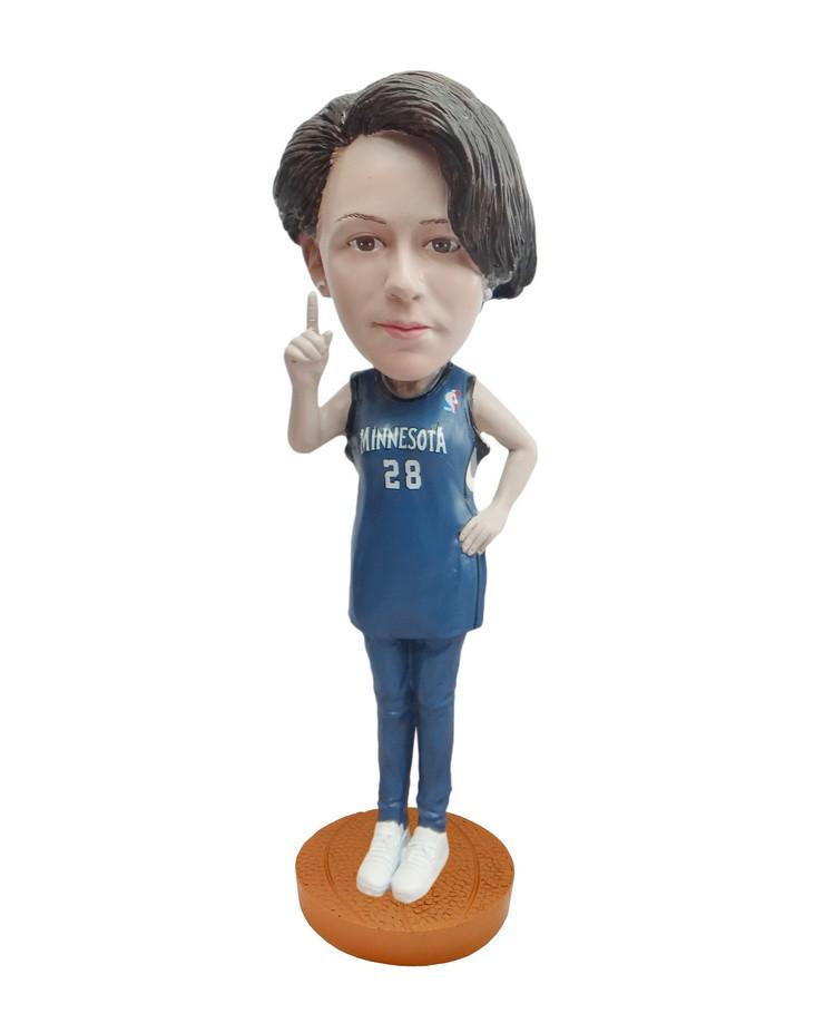 Minnesota Timberwolves Number One Female Fan Standard Base