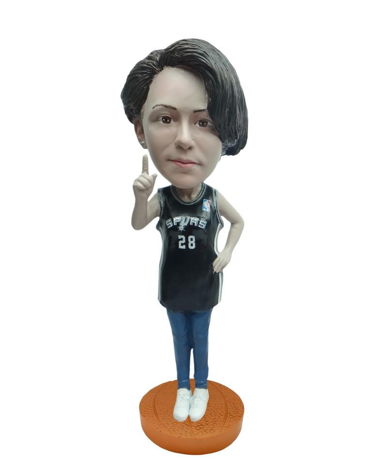 San Antonio Spurs Number One Female Fan Standard Base