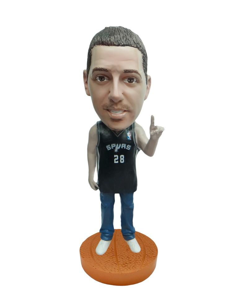 San Antonio Spurs Number One Male Fan Standard Base