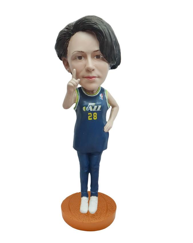 Utah Jazz Number One Female Fan Standard Base