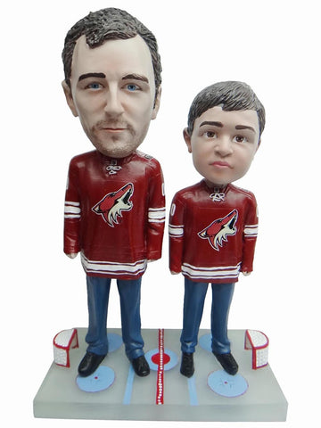 Arizona Coyotes Father and Son Fans